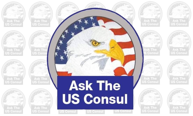 Logo of Ask the U.S. Consul column
