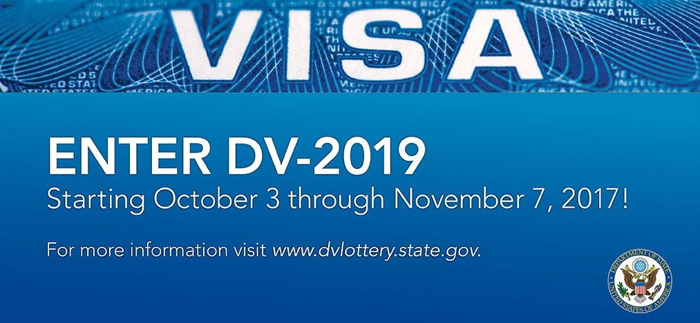 Lottery Program Registration Dv Graphic